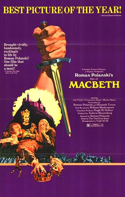 Macbeth Brilliant Roman Polanski Shakespeare Adapation