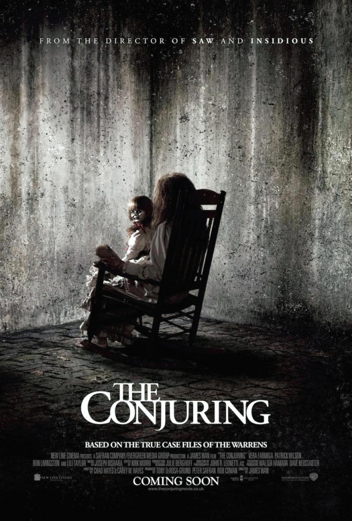 Conjuring - 2013-Movie-Poster Flick-Minute