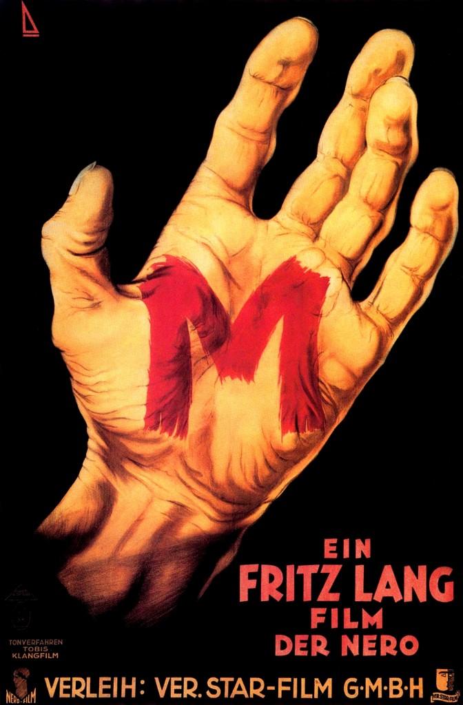 M. Fritz Lang Poster