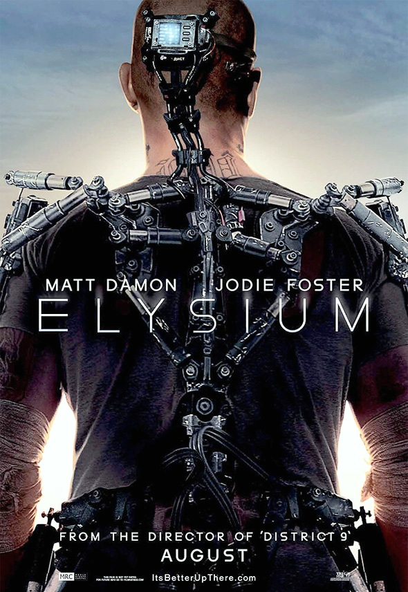 Elysium_ Poster-2013 Movie-Art