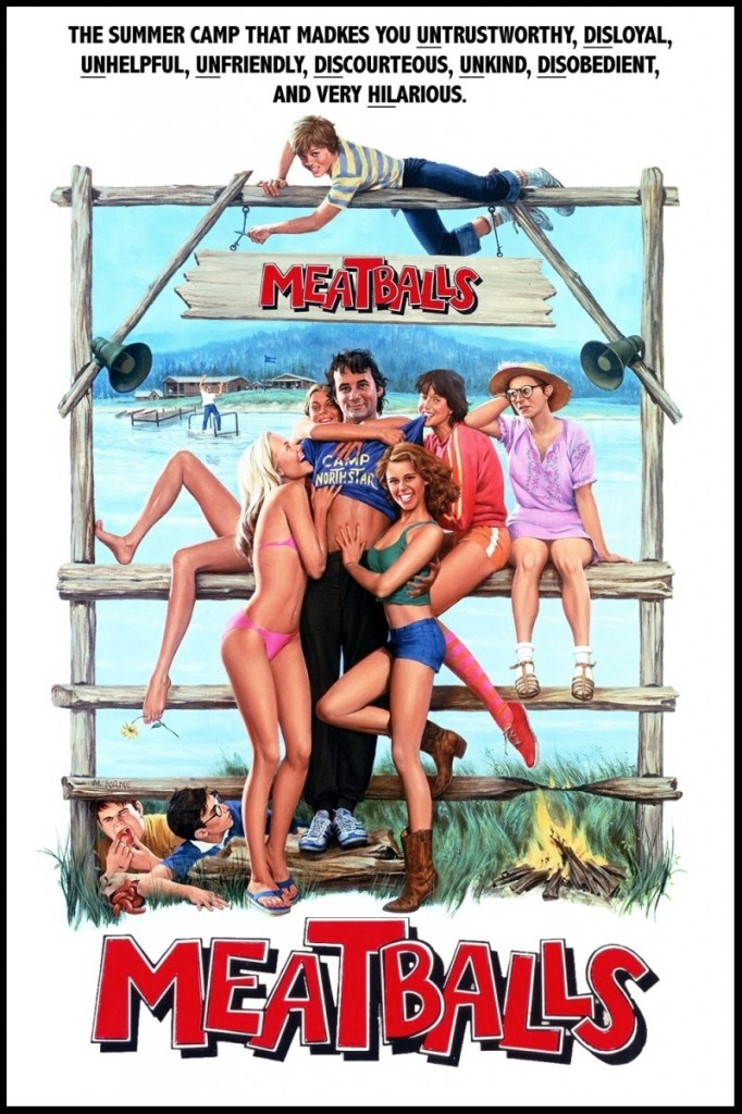 Meatballs-1979 Flick-Minute-poster