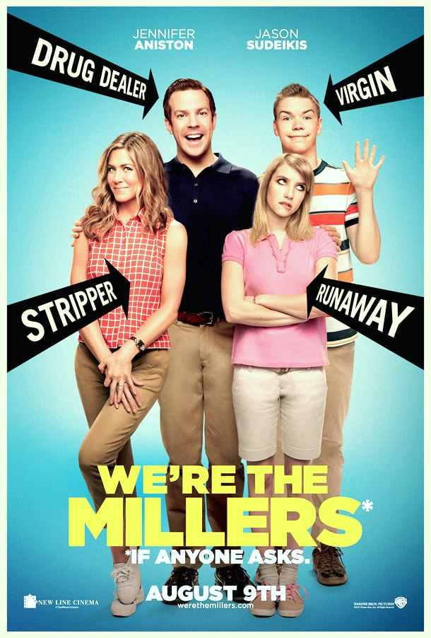 We the Millers Poster Misbehavior Comedy