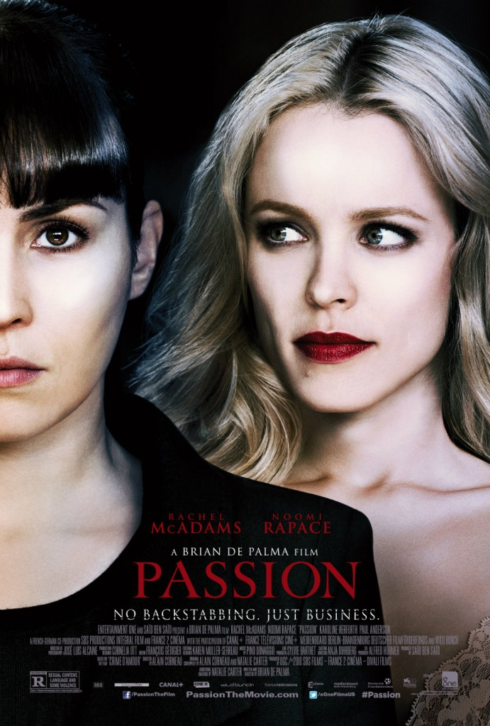 Passion_ DePalma Movie Poster _Lust