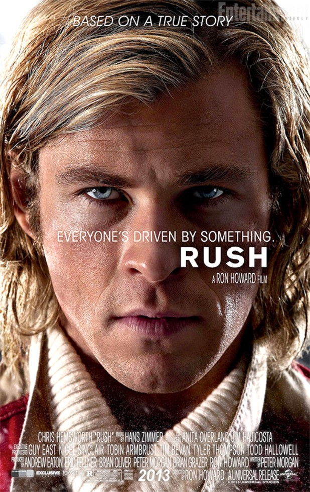 Rush Movie Poster (Chris Hemsworth)