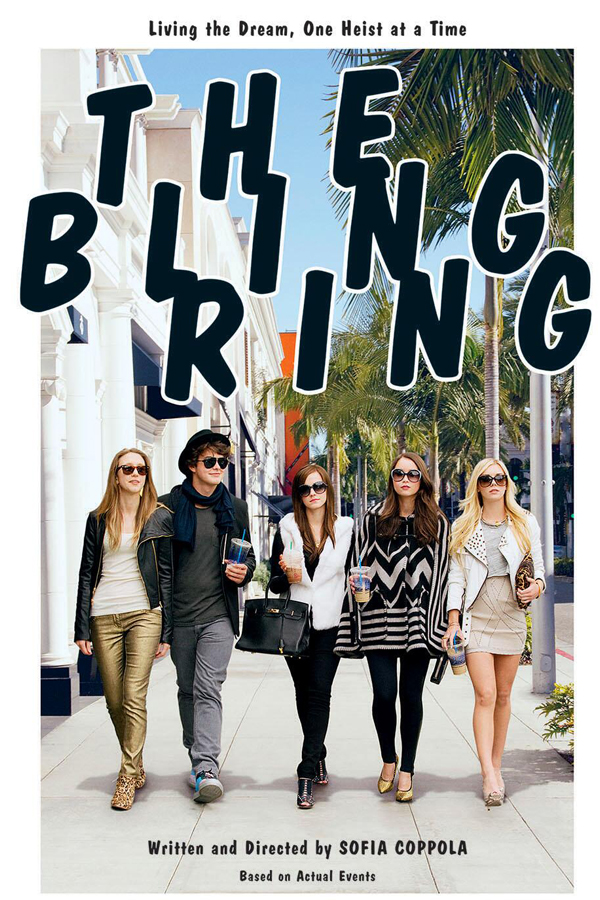 Bling Ring_Coppola - Sofia - Movie Poster