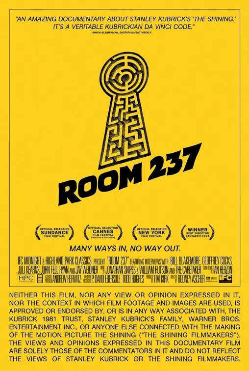 Room 237 Flick Minute _Poster