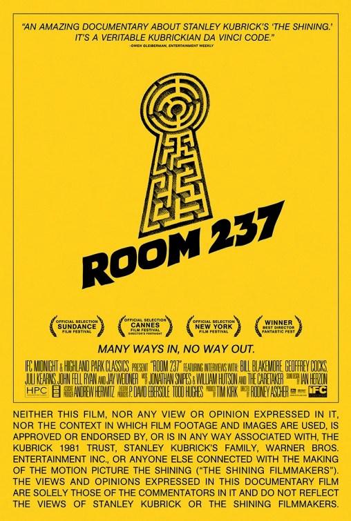 Room 237 Flick Minute _Poster