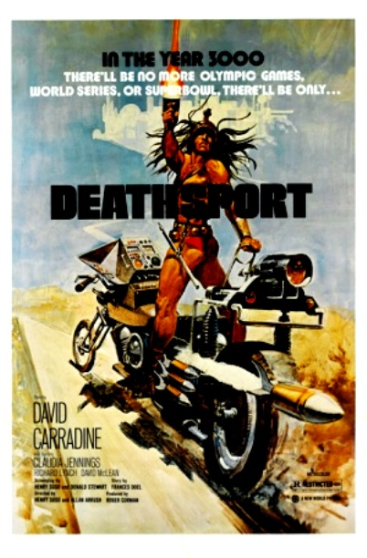 Deathsport_ FlickMinute poster_ 1970'shlock