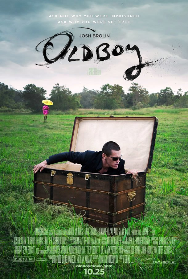 Oldboy_2013 Spike-Lee _Poster