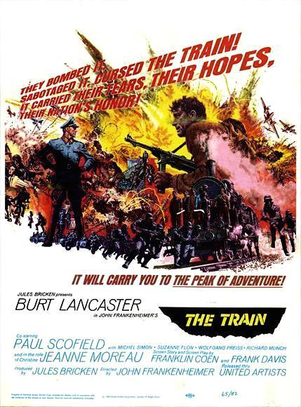 Train_1964 Burt Lancaster Film Poster
