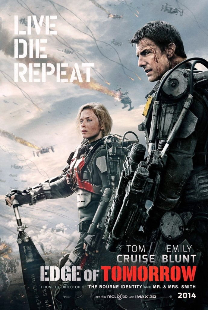 Edge of Tomorrow_Poster Flick-Minute_2014