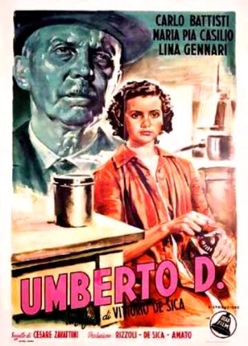 Umberto D_1952 Poster _Obscure Masterpiece